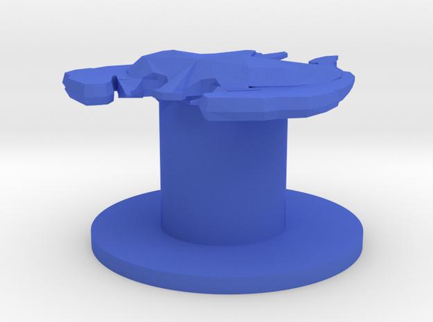 Son'a Commandship in Blue Processed Versatile Plastic
