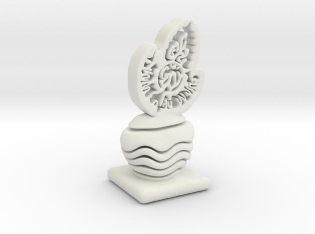 Yothin Logo in White Natural Versatile Plastic