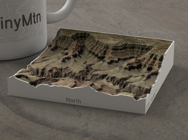 South Rim Grand Canyon, Arizona, 1:100000 Explorer in Full Color Sandstone