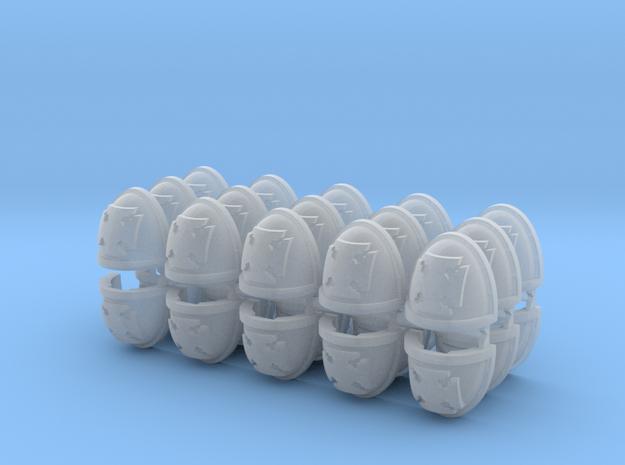 Elites Mk7/8 Shoulder Pads x30 in Smooth Fine Detail Plastic