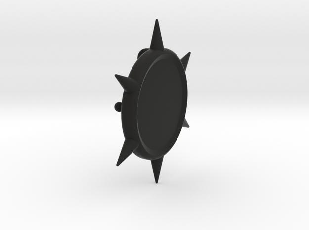 FLASH - Killer Frost 3.0 Buckle (Belt Attachment) in Black Natural Versatile Plastic