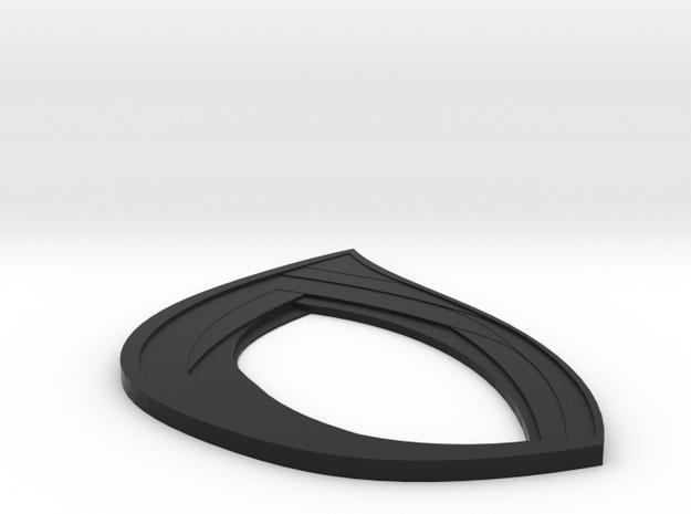 MCU 1 lens spider in Black Natural Versatile Plastic