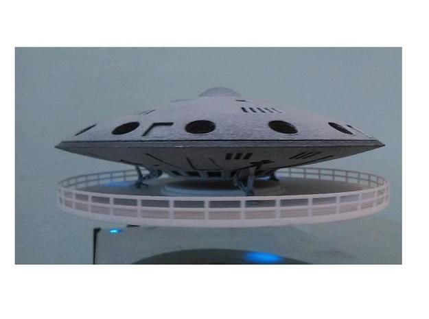 "5"" diameter Alpha Prime Saucer-1 Kit in White Natural Versatile Plastic"