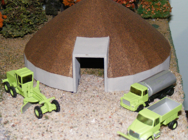 Caterpillar 140 Grader - Nscale in Smooth Fine Detail Plastic