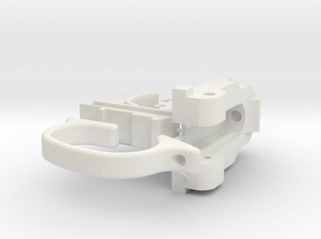 Webley Flaregun Mechanical Parts in White Natural Versatile Plastic