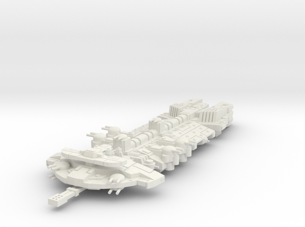 aeronave heroe   in White Natural Versatile Plastic