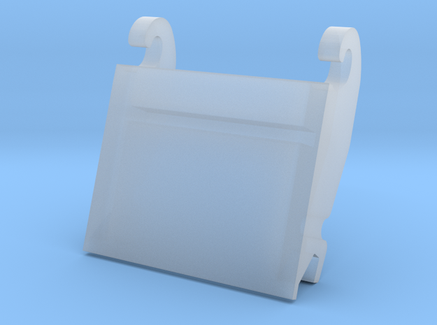 adapterplaat cw30 1 in Smooth Fine Detail Plastic