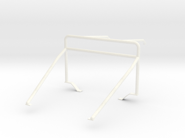 Roll cage 1/12 V1 in White Processed Versatile Plastic