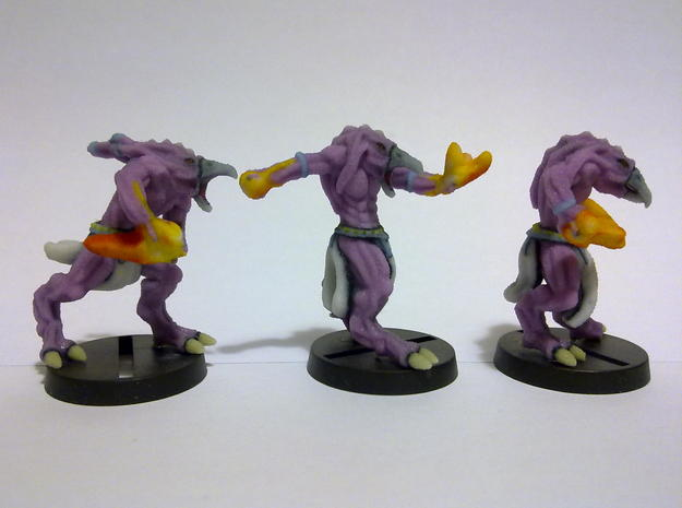 Demon troops. 3d printed Side