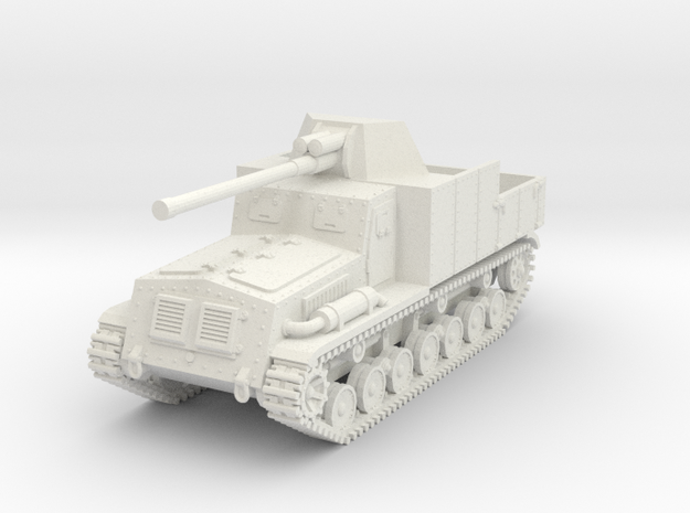 1/87 (HO) Type 5 Na-To tank destroyer in White Natural Versatile Plastic