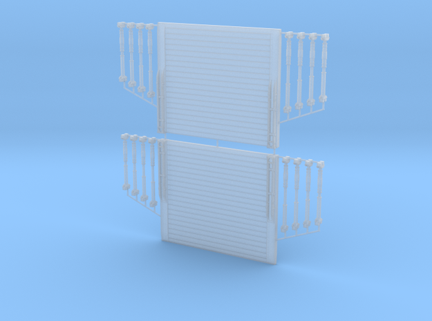 1/87 H0 Verbaukasten/Verbaubox 3,0x2,6m (lxh)