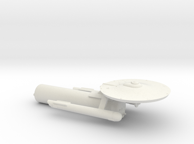 3125 Scale Fed Classic Tug with a Starliner Pod WE in White Natural Versatile Plastic