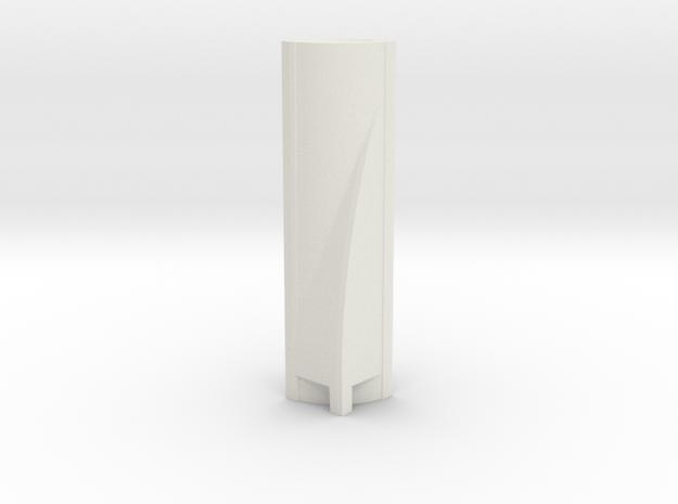 Torre Espacio - Madrid (1:4000) in White Natural Versatile Plastic