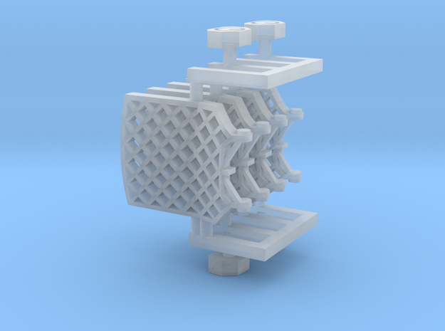 Grid fins for Falcon 9 v1.2 Block 4
