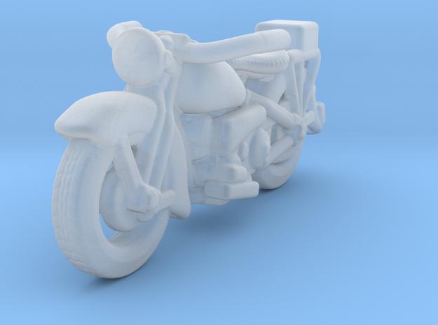 Police Harley Davidson 1930    1:160 N in Smooth Fine Detail Plastic