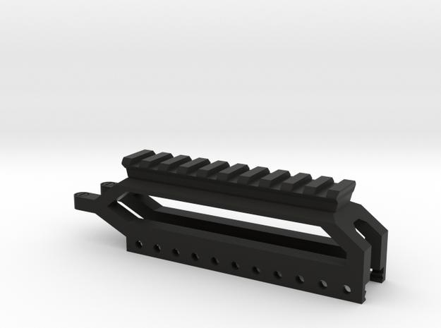 SRG Picatinny Riser in Black Natural Versatile Plastic