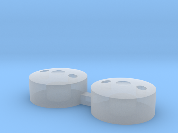 John Deere 110 Front Wheel Weights in Smoothest Fine Detail Plastic