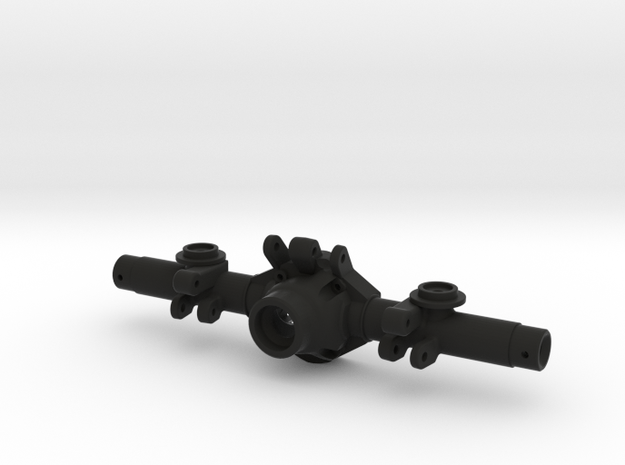 TMX Offroad Axle - Rear Coil in Black Natural Versatile Plastic