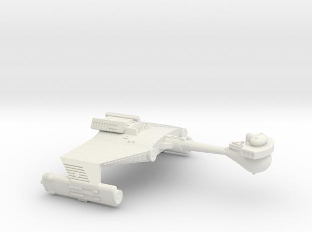 3788 Scale Klingon D5S Scout Cruiser WEM in White Natural Versatile Plastic
