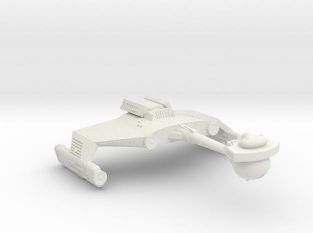 3125 Scale Klingon D5S Scout Cruiser WEM in White Natural Versatile Plastic