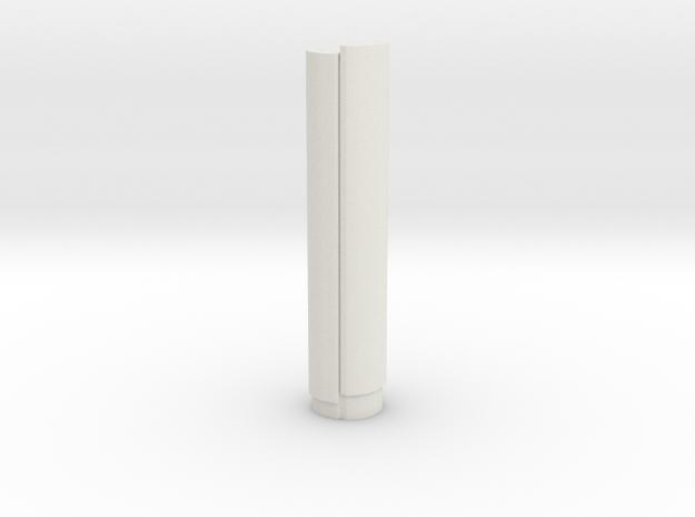Torre PwC - Madrid (1:4000) in White Natural Versatile Plastic
