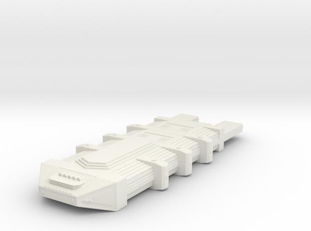 Omni Scale Seltorian Hive Ship (Medium) MGL in White Natural Versatile Plastic