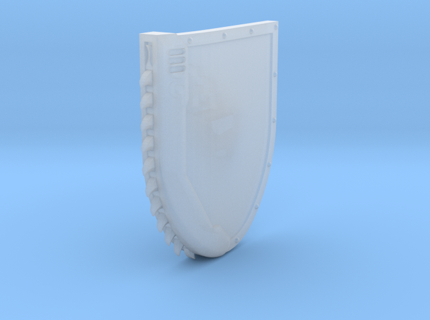Left-handed Chainshield in Smooth Fine Detail Plastic: Small