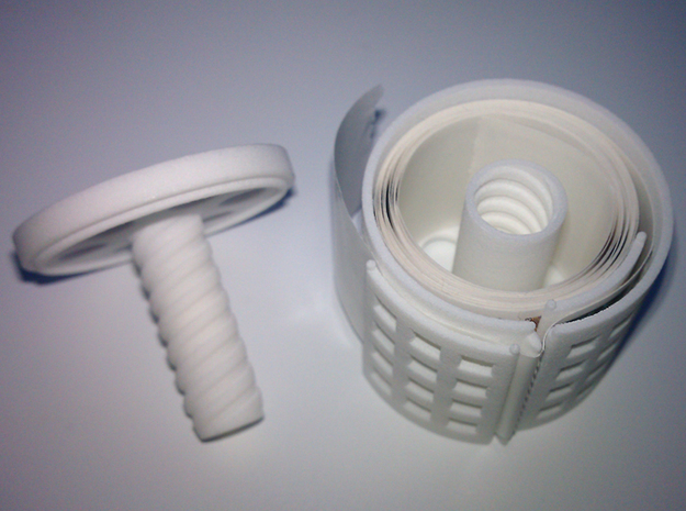 *stamp roll dispenser The Postmaster 2 3d printed