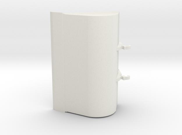 bak cw30 2meter 20-25ton 3D in White Natural Versatile Plastic