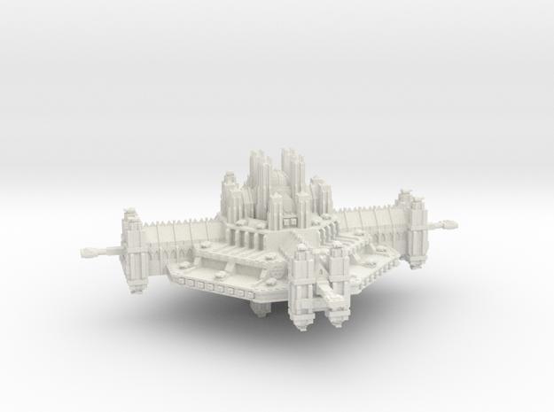 Fortaleza Espacial clase Ramilies in White Natural Versatile Plastic