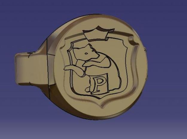 sceau poufsouffle 3d printed
