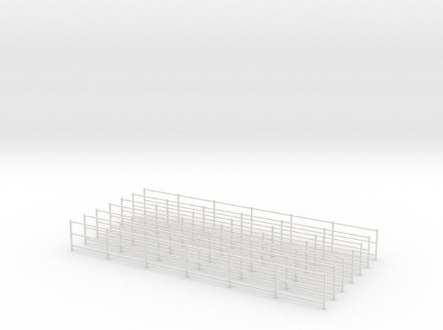 1/43 gardes-corps in White Natural Versatile Plastic