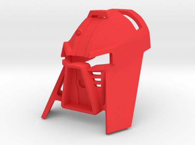 Kanohi Tarua in Red Processed Versatile Plastic