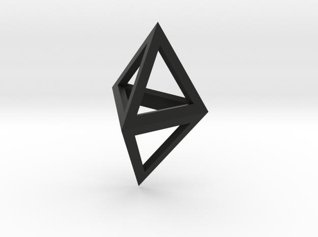 Double Tetrahedron pendant