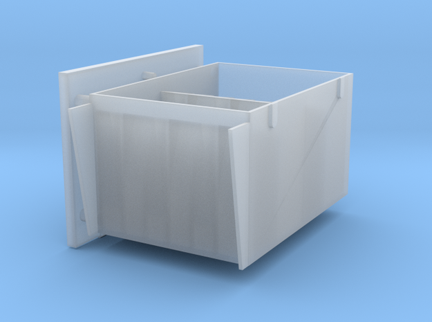 2 cm Ammo boxes in Smooth Fine Detail Plastic