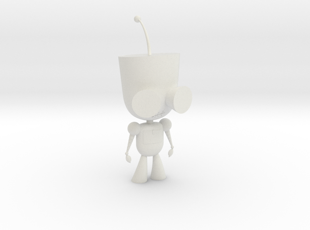 GIR Robot in White Natural Versatile Plastic