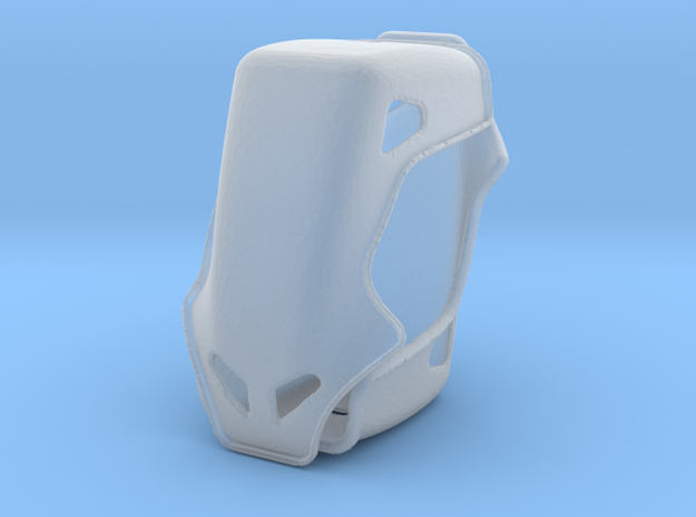 1/43 Racing Seats X 2 in Smooth Fine Detail Plastic