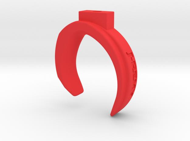 Spektrum DX6R Trigger Upgrade Replacement in Red Processed Versatile Plastic