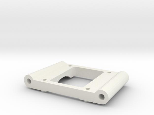 losi xx cr rear pivot block 2 degree an in White Natural Versatile Plastic