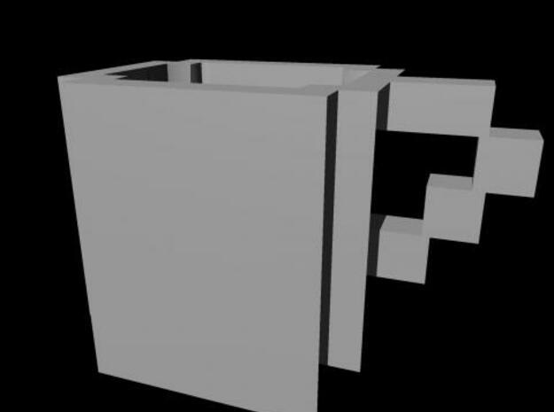 Pixel Mug 3d printed