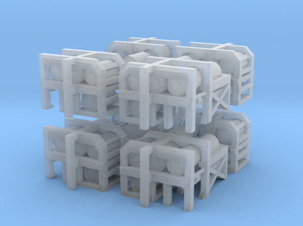 1/300 USN Depth Charge Loader Rack SET