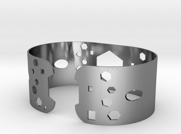 Geometric round 1in bracelet