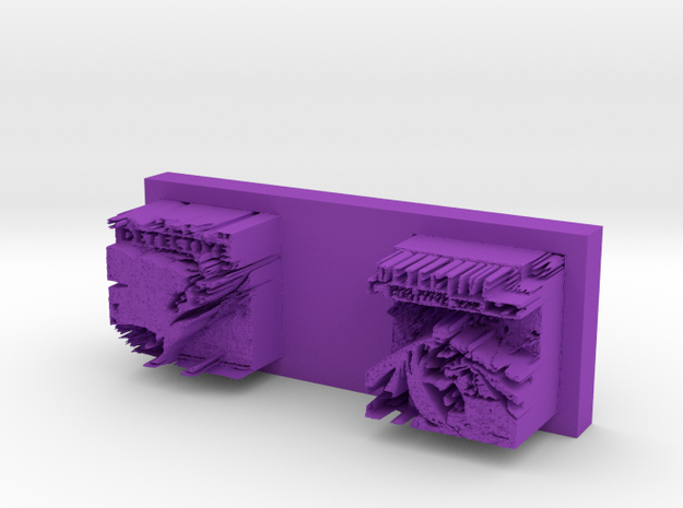 nosevalleybottom in Purple Processed Versatile Plastic