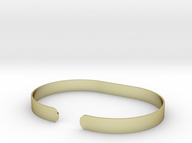 Round .25in Bracelet in 18k Gold