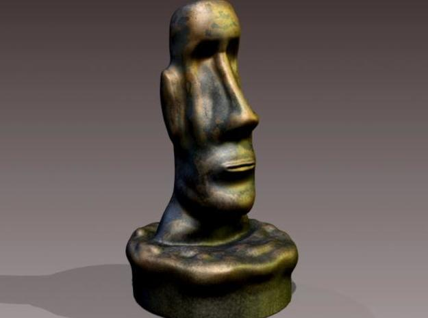 Easter Island Head Statue 3d printed