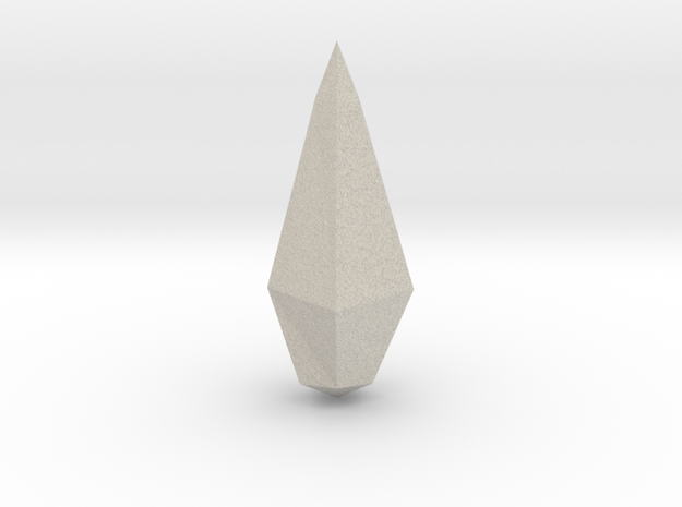 Spirit Shard in Natural Sandstone