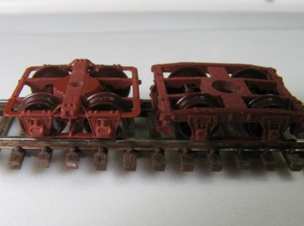 T60b N Truck, Continuous Frame 1850-1880s for Bach 3d printed