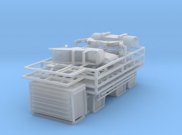 Aufbau f眉r eine DL30.01 auf IFA W50 in Smooth Fine Detail Plastic