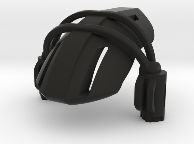 Edohak Extension in Black Natural Versatile Plastic