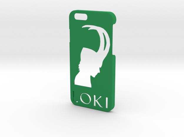 Loki Phone Case-iPhone 6/6s in Green Processed Versatile Plastic